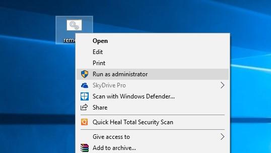 menghilangkan Activate Windows 10 Watermark